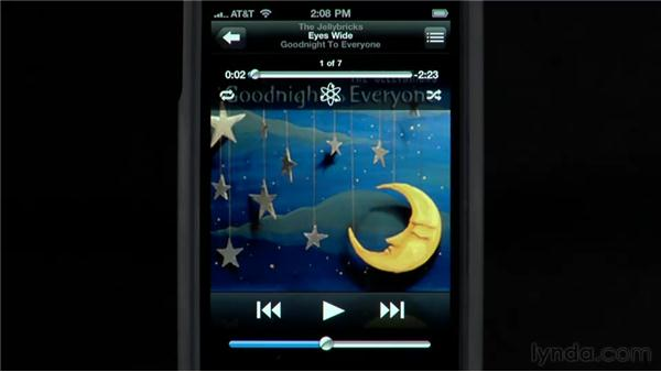 Creating On-The-Go and Genius playlists: iPhone and iPod touch iOS 4 Essential Training
