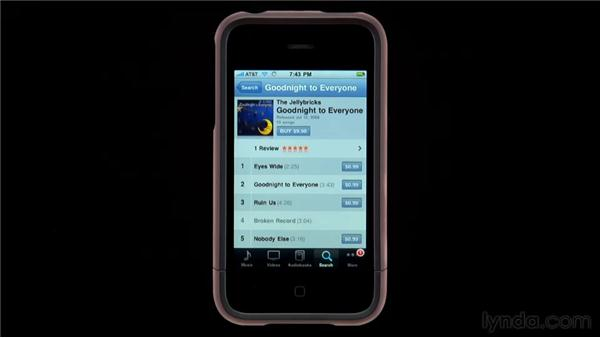 : iPhone and iPod touch iOS 4 Essential Training