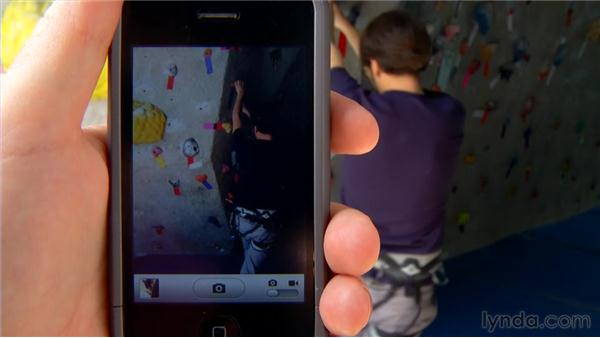 Shooting still photos with your iPhone: iPhone and iPod touch iOS 4 Essential Training