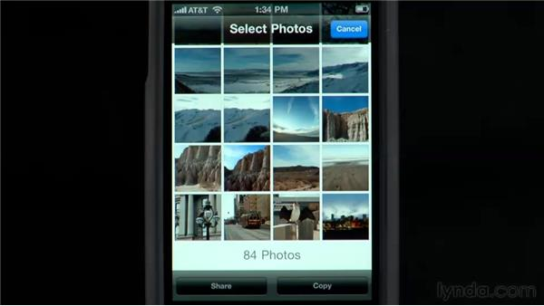 Sharing photos and video: iPhone and iPod touch iOS 4 Essential Training