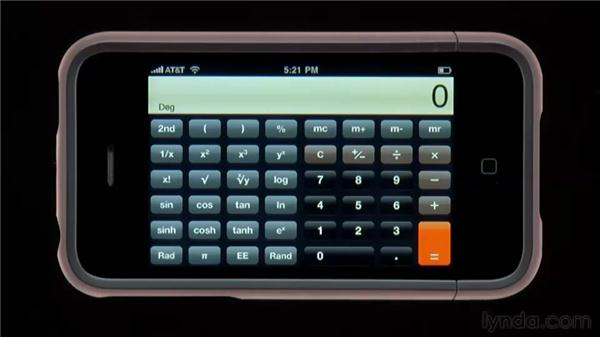 The Calculator app: iPhone and iPod touch iOS 4 Essential Training