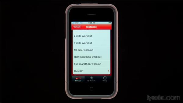 The Nike+ app: iPhone and iPod touch iOS 4 Essential Training