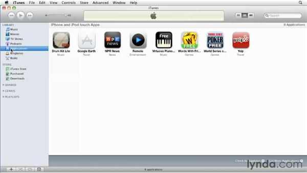 Purchasing and installing apps: iPhone and iPod touch iOS 4 Essential Training