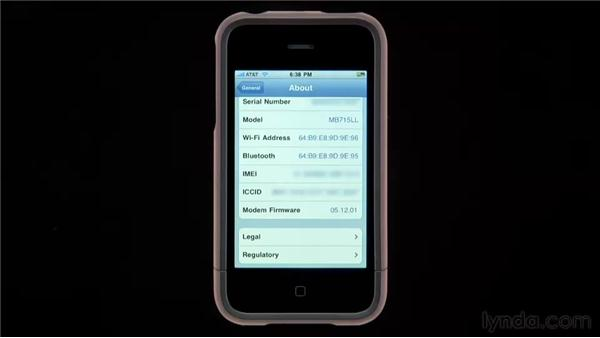About: iPhone and iPod touch iOS 4 Essential Training