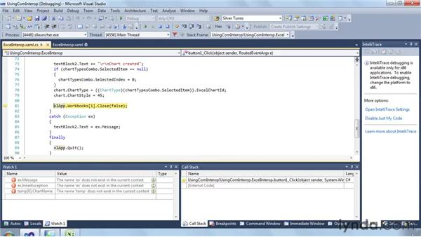 Using COM Interop to interact with Office: Silverlight 4 New Features