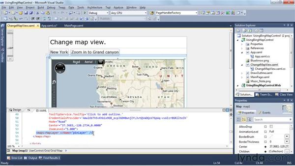 Bringing the world to your application with Bing Maps: Silverlight 4 New Features
