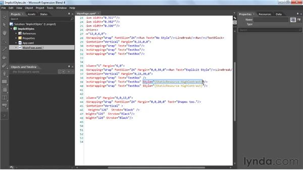 Looking at Implicit Styles: Silverlight 4 New Features