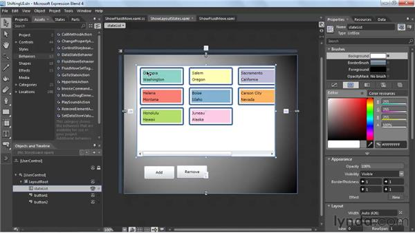 Shifting your UI with transition effects: Silverlight 4 New Features
