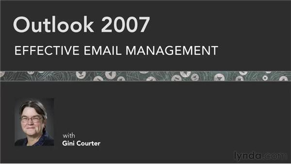 Goodbye: Outlook 2007: Effective Email Management
