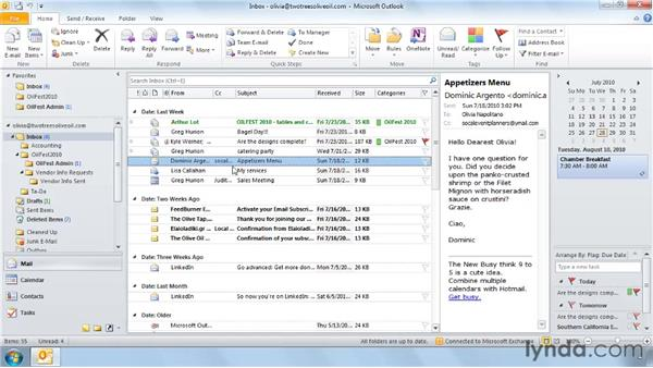 Creating and using custom Quick Steps: Outlook 2010: Effective Email Management