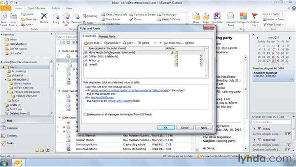 : Outlook 2010: Effective Email Management