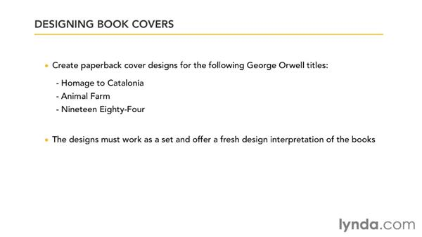 The project brief: Designing a Book Cover