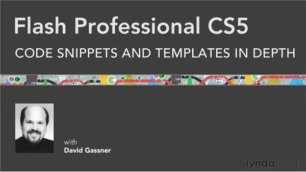 Goodbye: Flash Professional CS5: Code Snippets and Templates in Depth