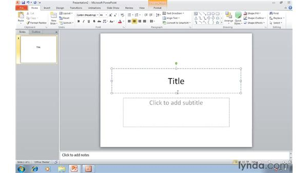 Changing the default file format in PowerPoint 2010: Migrating from PowerPoint 2003 to PowerPoint 2010