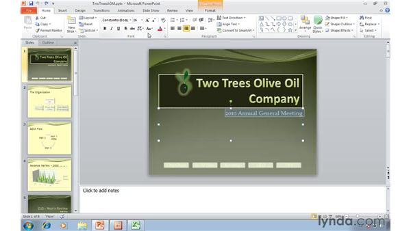 Quickly accessing common features with mini toolbars: Migrating from PowerPoint 2003 to PowerPoint 2010