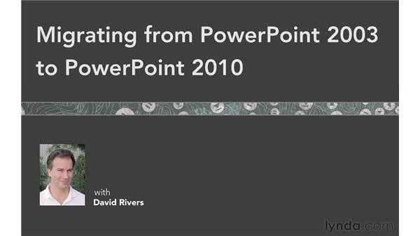 Goodbye: Migrating from PowerPoint 2003 to PowerPoint 2010
