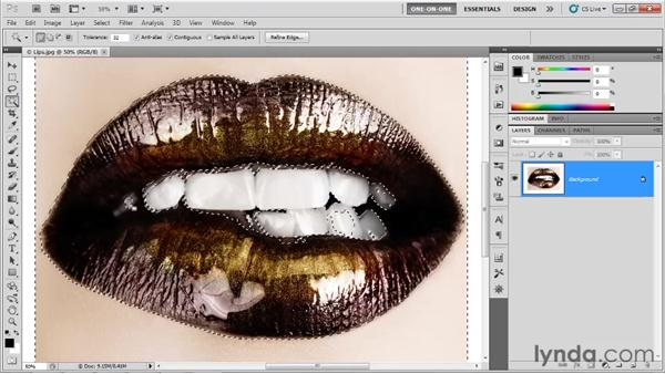 Introducing the Color Range command: Photoshop CS5 One-on-One: Advanced