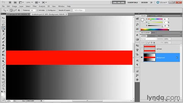 The Localized Color Clusters option: Photoshop CS5 One-on-One: Advanced