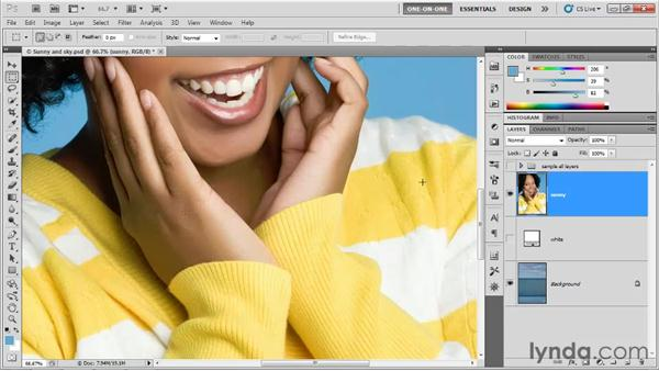 Introducing the Refine Edge command: Photoshop CS5 One-on-One: Advanced