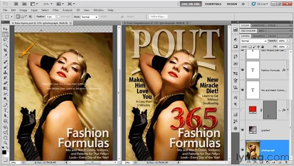 Making text in Photoshop: Photoshop CS5 One-on-One: Advanced