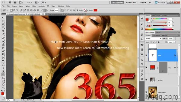 Drawing a custom shape layer: Photoshop CS5 One-on-One: Advanced