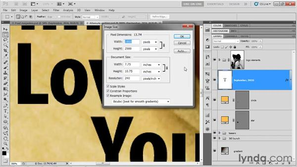 Preparing text for commercial output: Photoshop CS5 One-on-One: Advanced