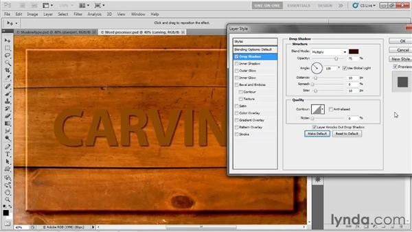 Saving custom default settings: Photoshop CS5 One-on-One: Advanced