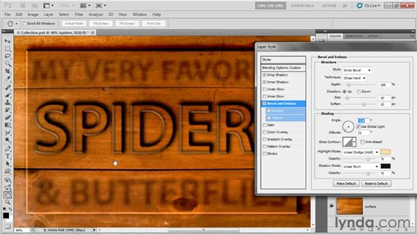 Exploiting global light: Photoshop CS5 One-on-One: Advanced