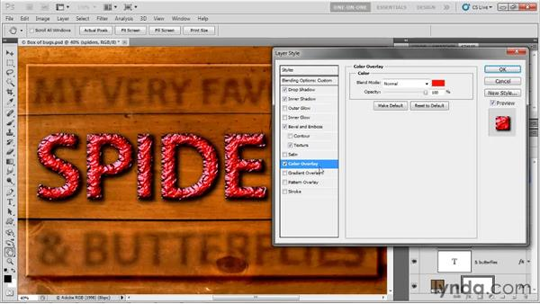Creating a textured bevel effect: Photoshop CS5 One-on-One: Advanced