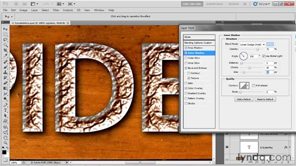 Using shadows as highlights: Photoshop CS5 One-on-One: Advanced