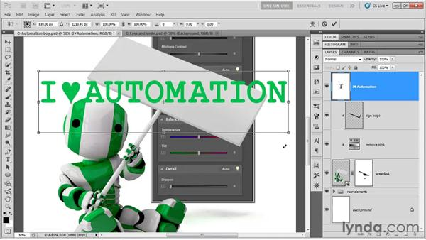 Using the transformation origin: Photoshop CS5 One-on-One: Advanced