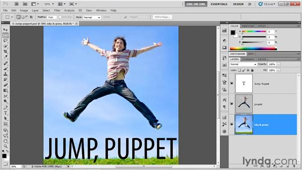 Extracting a foreground element: Photoshop CS5 One-on-One: Advanced