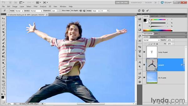 Introducing the Puppet Warp command: Photoshop CS5 One-on-One: Advanced