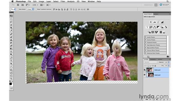 Snapshot project: Using Auto-Align and Auto-Blend: Photoshop CS5: Creative Compositing