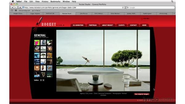 Photoshop composite inspiration: Web sites: Photoshop CS5: Creative Compositing