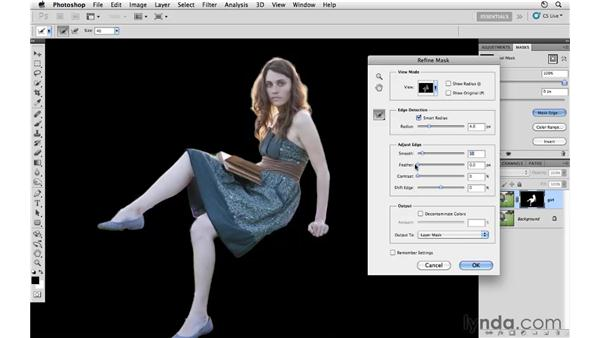 Project 1: Removing a model from a background in Photoshop: Photoshop CS5: Creative Compositing