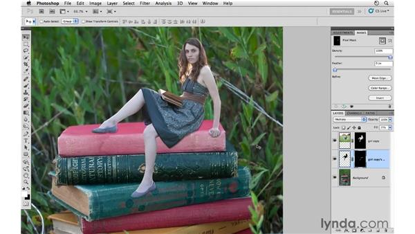 Project 1: Working with shadows: Photoshop CS5: Creative Compositing
