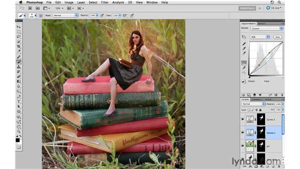 Project 1: Working with curves and masking: Photoshop CS5: Creative Compositing