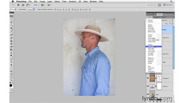 Applying a creative color effect: Photoshop CS5: Creative Compositing