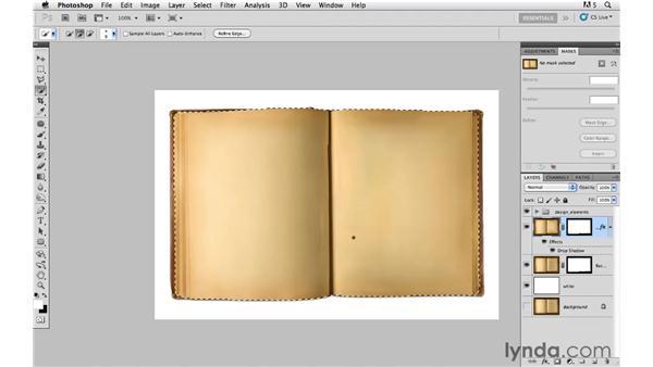 Masking and image blending: Photoshop CS5: Creative Compositing
