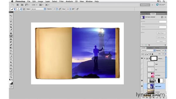 Creating composite options: Photoshop CS5: Creative Compositing