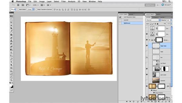Enhancing the color: Photoshop CS5: Creative Compositing