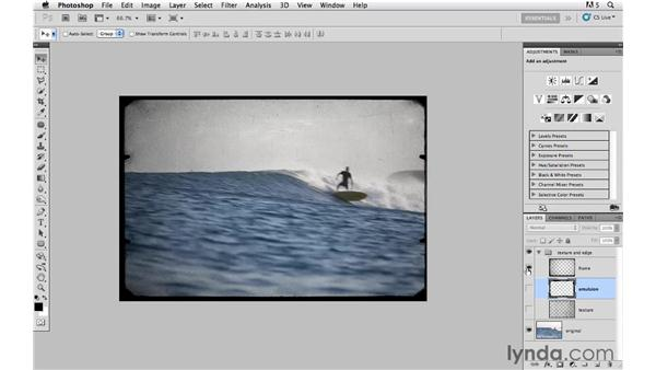Setting the stage with color and tone: Photoshop CS5: Creative Compositing