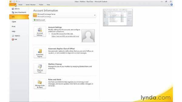 Changing the startup folder: Migrating from Outlook 2003 to Outlook 2010
