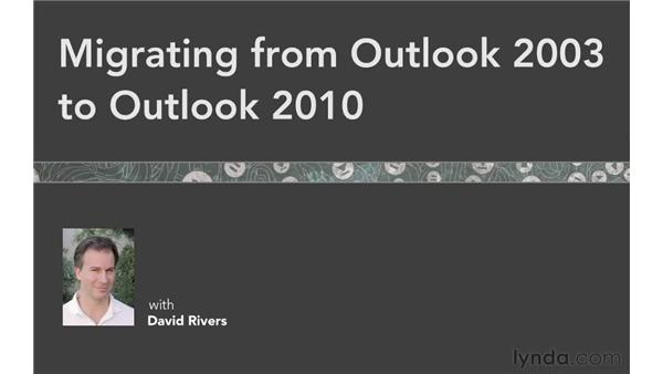 Goodbye: Migrating from Outlook 2003 to Outlook 2010