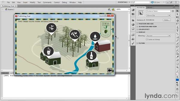 Creating an AIR application in Flash CS5: AIR 2 with Flash and Flex Essential Training