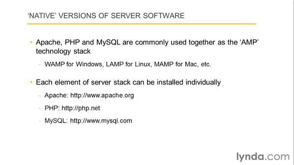 Introducing Apache, MySQL, and PHP : Dreamweaver with PHP and MySQL