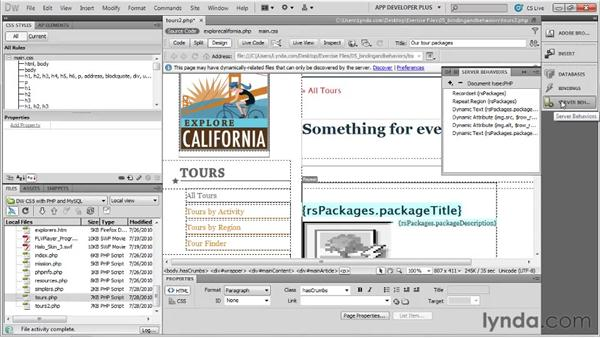 : Dreamweaver with PHP and MySQL