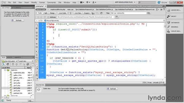 Working with multiple checkbox controls: Dreamweaver with PHP and MySQL