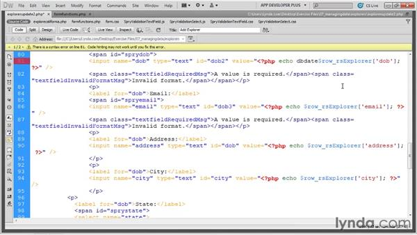 : Dreamweaver with PHP and MySQL